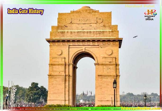 History of India Gate In Hindi