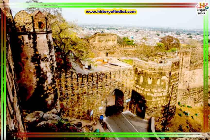 Jhansi Fort History in Hindi Uttar Pradesh