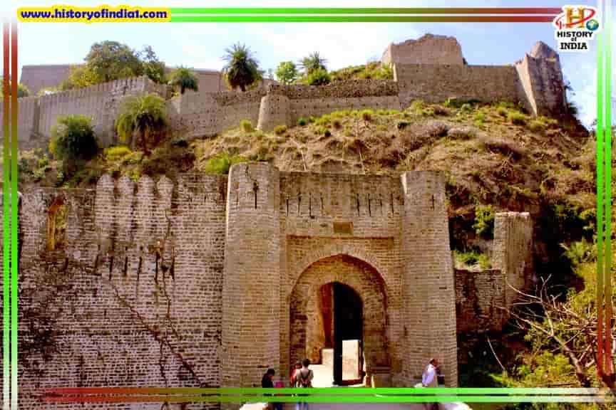Kangra Fort History In Hindi Himachal Pradesh
