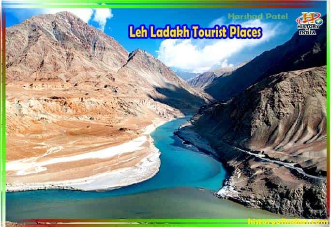 Leh Ladakh Tourist Places India In Hindi
