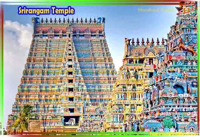 Srirangam Temple History In Hindi