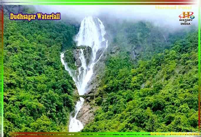Dudhsagar Waterfall Information In Hindi