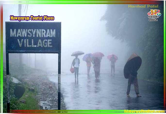 Mawsynram Tourism Place In Hindi