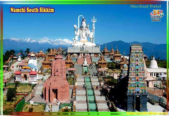 Namchi South Sikkim in Hindi