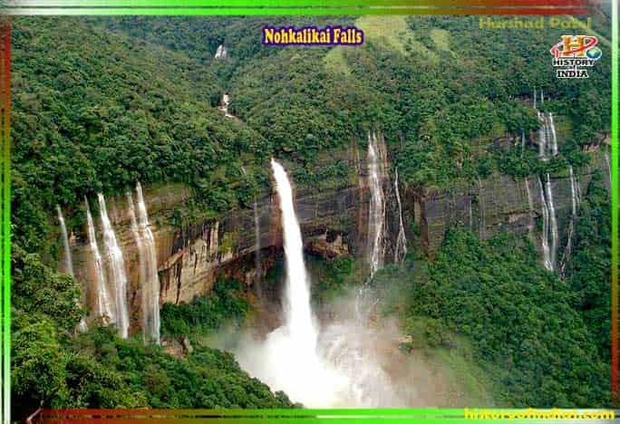 Nohkalikai Falls In Hindi