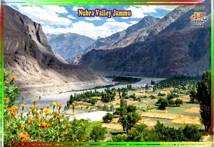Nubra Valley Jammu Kashmir In Hindi